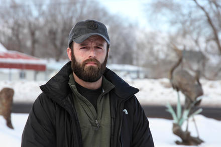 Ryan Payne is a veteran from Montana who participated in the struggle between the Bundy family and the BLM in Southern Nevada. He has been in Burns for the past month, talking with local residents and the Hammond family.
