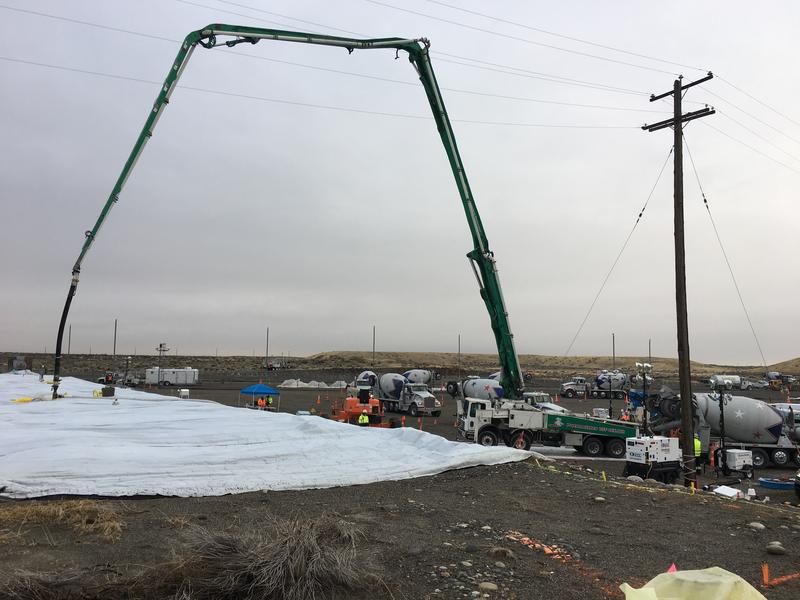 Hanford's Tunnel 1 has been grouted up to protect the public from further collapse at the southeast nuclear site.