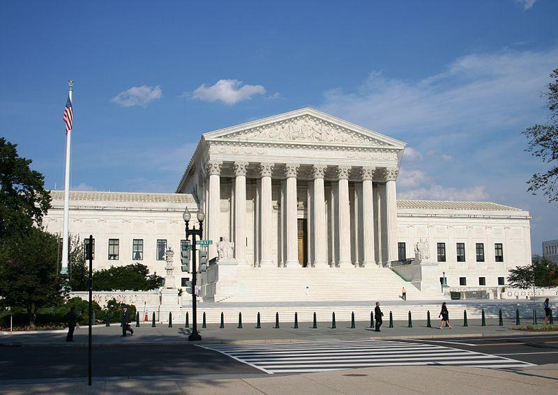 The U.S. Supreme Court building in Washington, DC. The Court heard arguments Tuesday about life imprisonment, without parole, for minors.