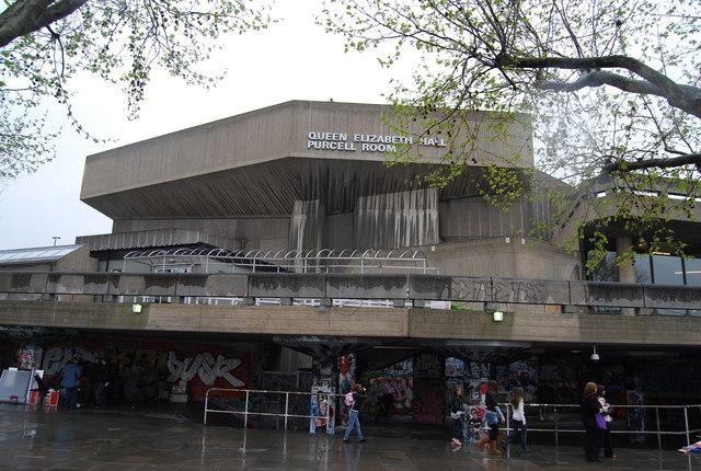The Purcell Room at Queen Elizabeth Hall in London.