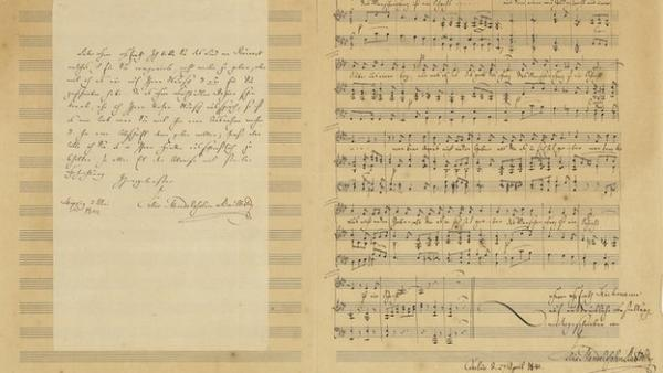 The lost Mendelssohn manuscript.