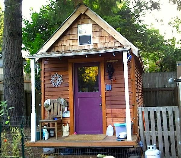 A 117-square-foot tiny house north of Seattle, WA.