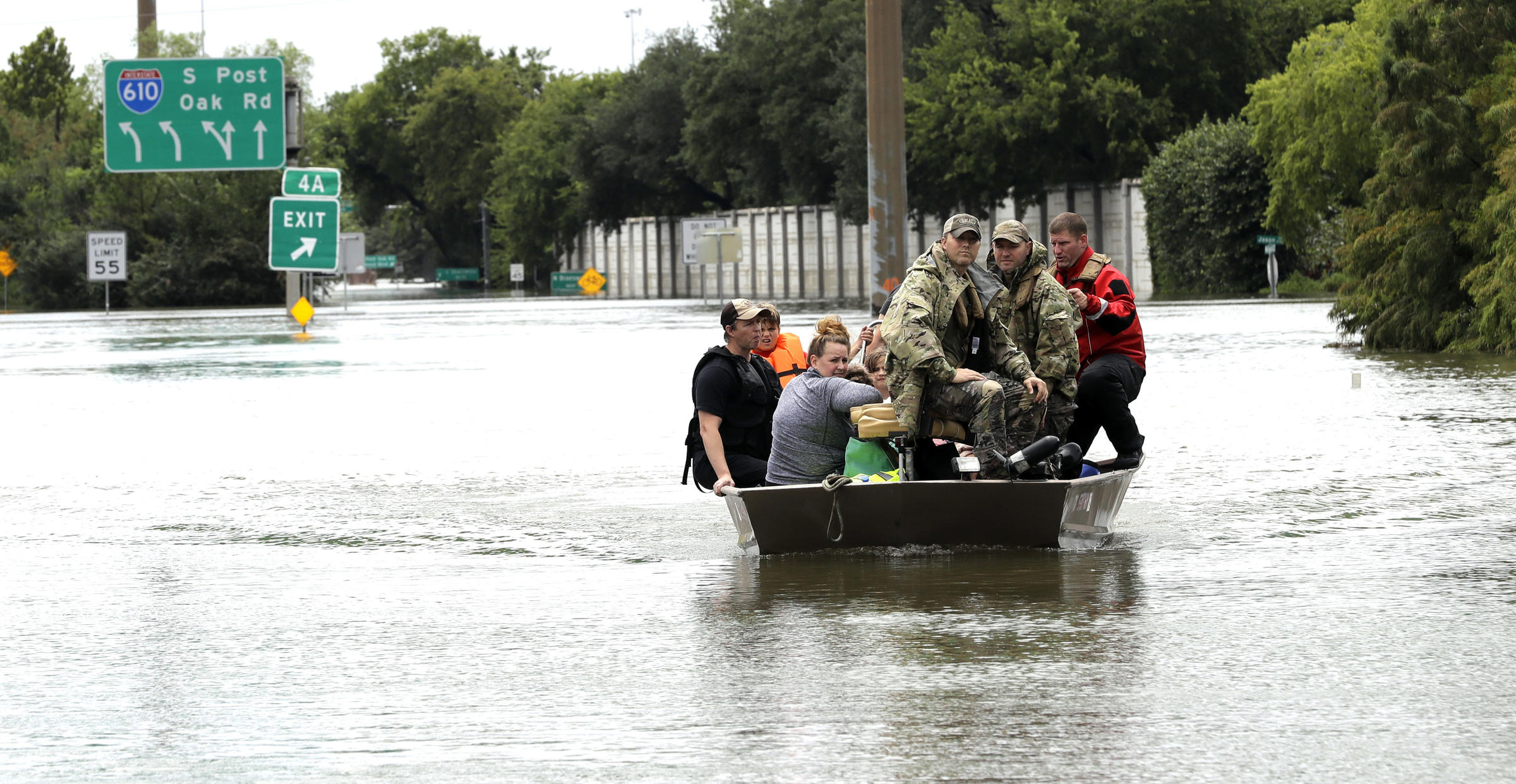Nebraska National Guard helicopters helping rescue in Texas