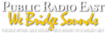 Public Radio East logo