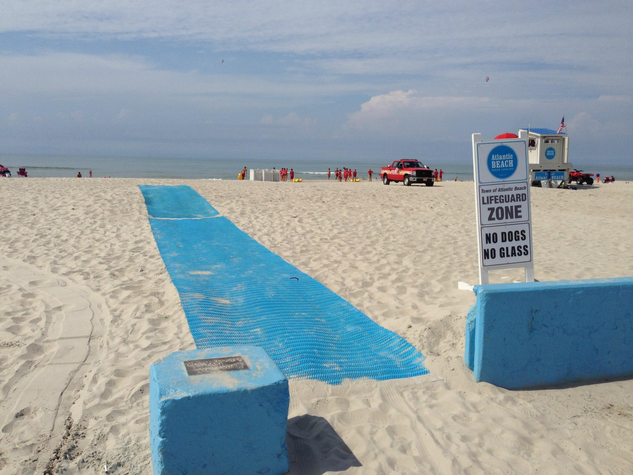 Making Local Beaches Safer And More Accessible Public Radio East