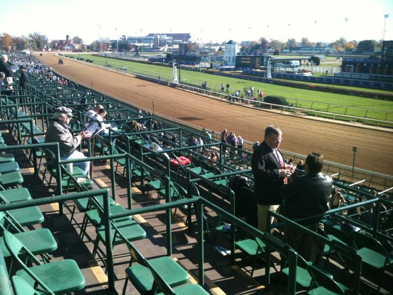 Churchill Downs in Louisville.