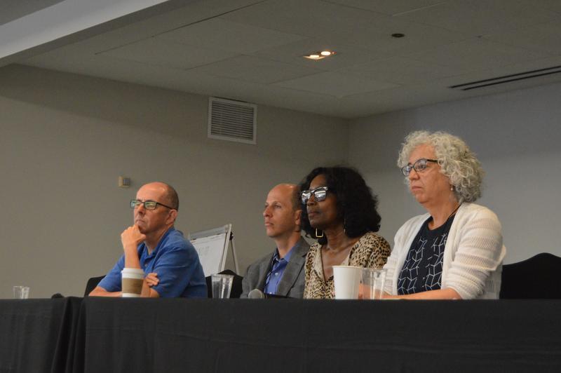 NPR's Mark Memmott, BBC's Anthony Zurcher, Miami Herald's Nancy Ancrum, and WHYY's Naomi Starobin
