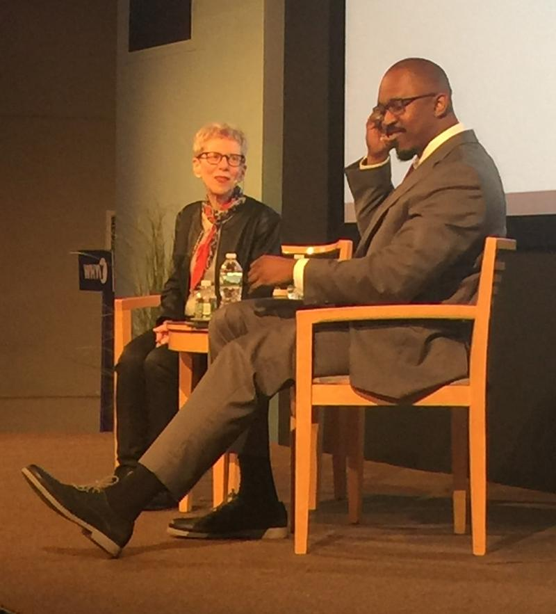 WHYY's Terry Gross in conversation with WAMU's Joshua Johnson.