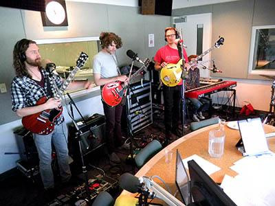 Fictionist joined us at the KUER studios in May of 2011