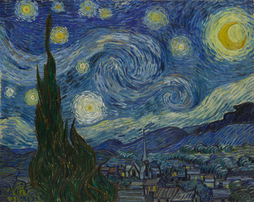 "Vincent Van Gogh's ""Starry Night,"" 1889"