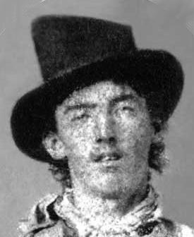Henry McCarty, aka Billy the Kid, est 1859-1881