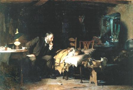 "Luke Fildes, ""The Doctor"" 1891"