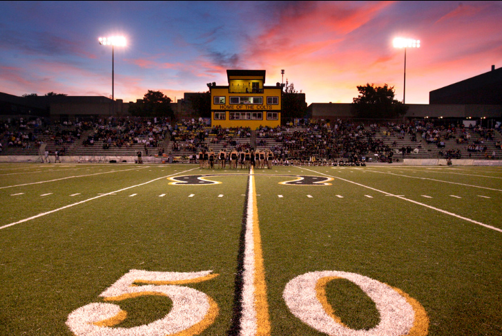 Scott Cate, a wealthy benefactor, spent millions of dollars on Cottonwood High's football program, paying for a press box and a new field.
