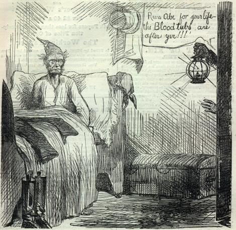 """The """"blood tubs"""" were one of a number of 19th century Baltimore gangs"""
