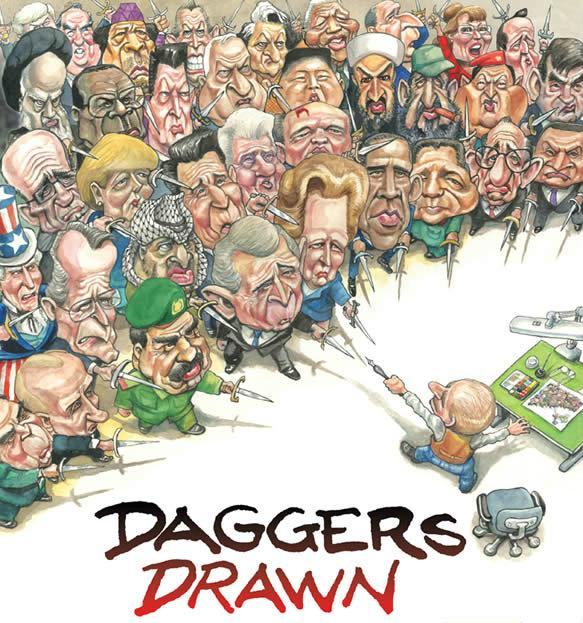 "From Kevin ""Kal"" Kallaugher's book ""Daggers Drawn"""