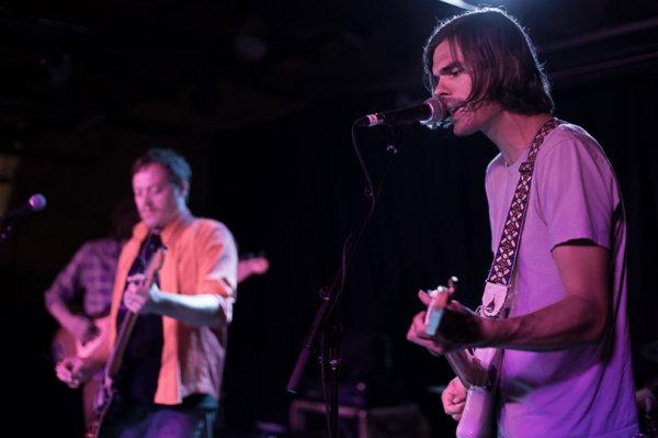 Nick Neihart (right) is leadsinger and guitarist in the band Pentagraham Crackers