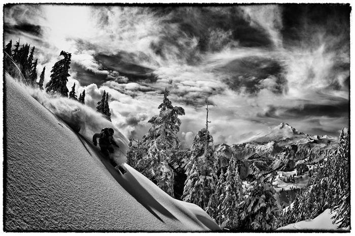 Adam Ü Tele-Skiing, Mt. Baker, WA