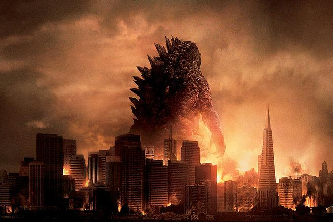 A promotional image from <i>Godzilla</i> (2014)
