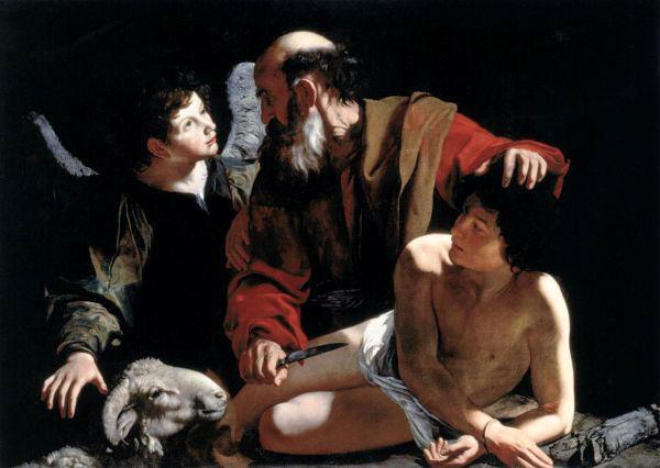 Caravaggio, <i>Sacrifice of Isaac</i>, c. 1598