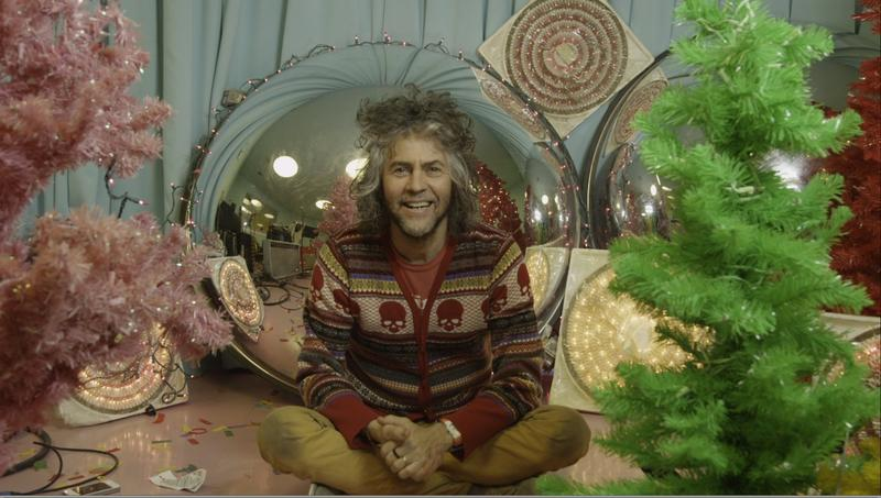 Musician Wayne Coyne of the Flaming Lips is a holiday junkie