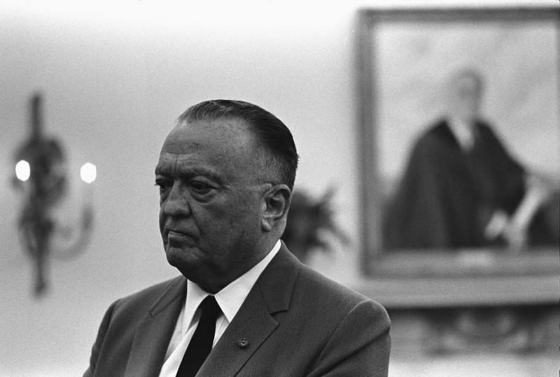 FBI Director J. Edgar Hoover enthusiastically supported efforts to rid the federal government of gays and lesbians.