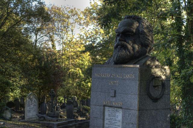 Karl Marx Grave, Highgate Cemetery, London