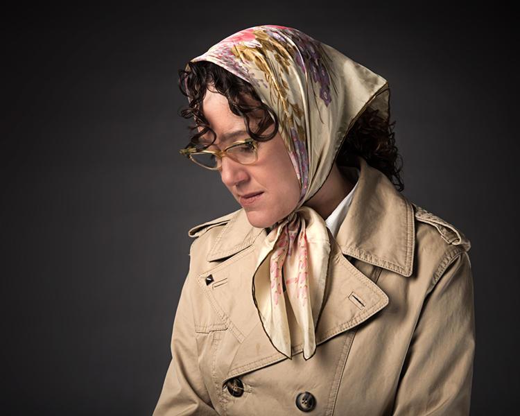 Tracie Merrill in Catherine Filloux's Selma '65. Courtesy Pygmalion Theatre Company