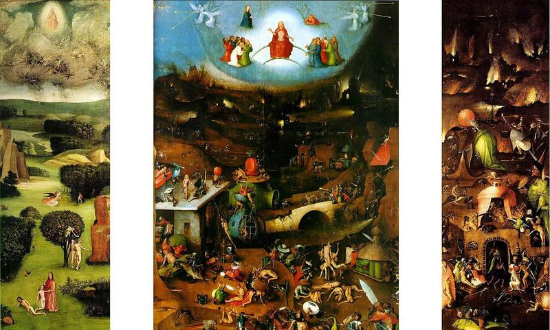 The Last Judgment, by Hieronymus Bosch