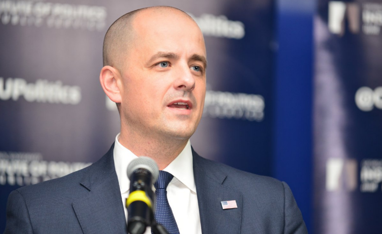 Independent presidential candidate Evan McMullin