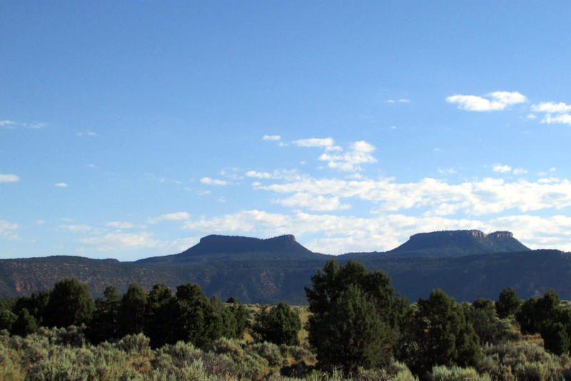 The Bears Ears buttes in southwestern Utah.