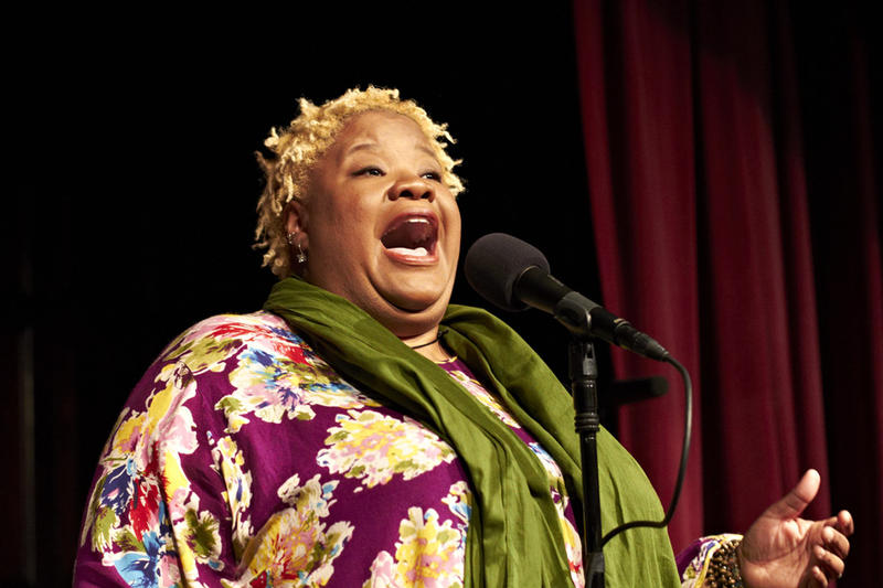 Dame Wilburn is a storyteller and presenter for The Moth
