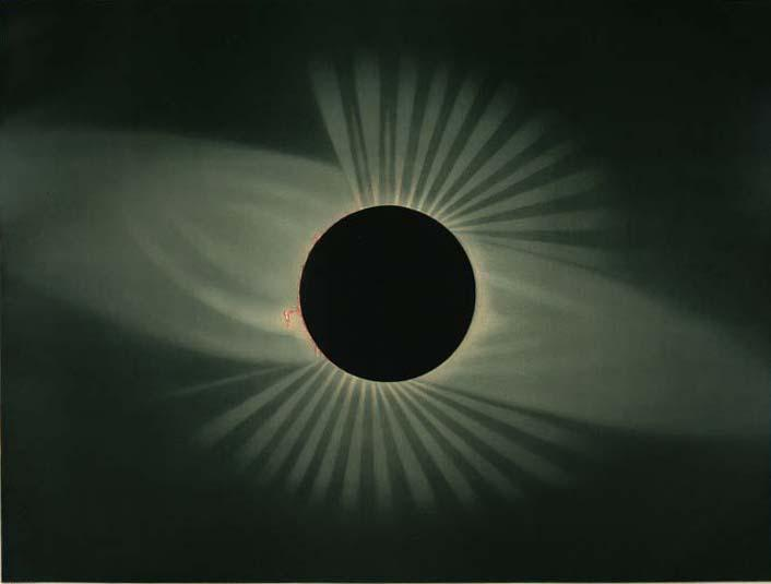 Total eclipse of the sun. July 29, 1878, Creston, Wyoming Territory.