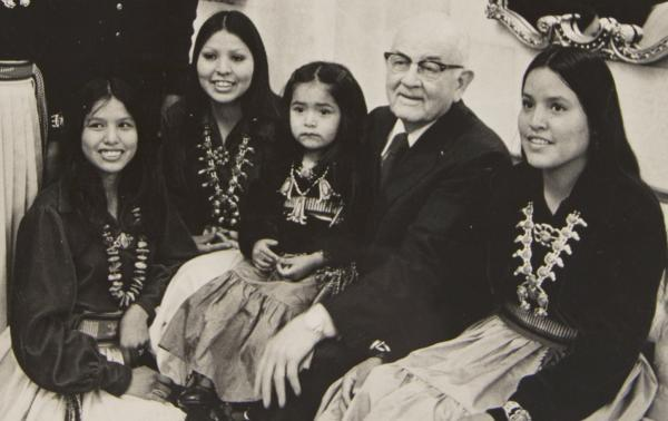 LDS Church President Spencer W. Kimball once served as Chairman of the Church's Committee on Indian Relationships.