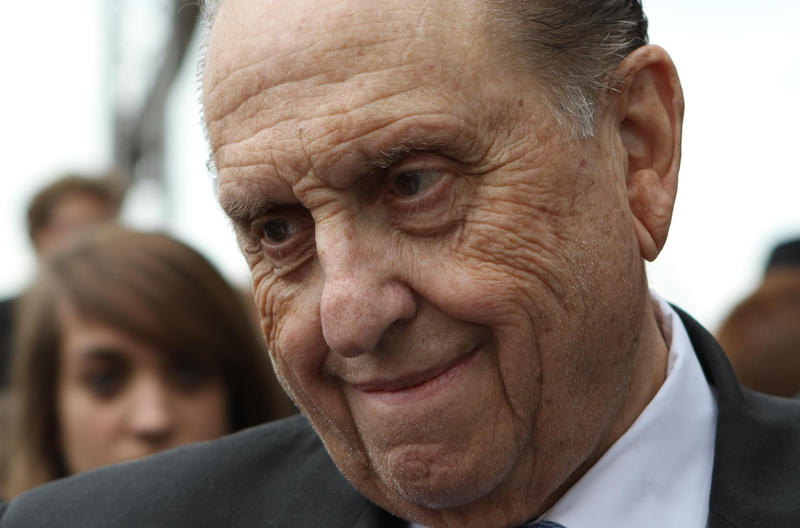President Thomas S. Monson following Rome Italy Temple groundbreaking on October 23, 2010.