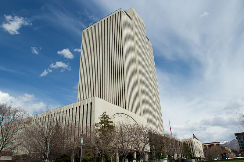 LDS Church Office Building in downtown Salt Lake City