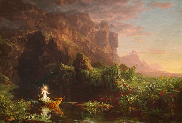 Thomas Cole, The Voyage of Life: Childhood