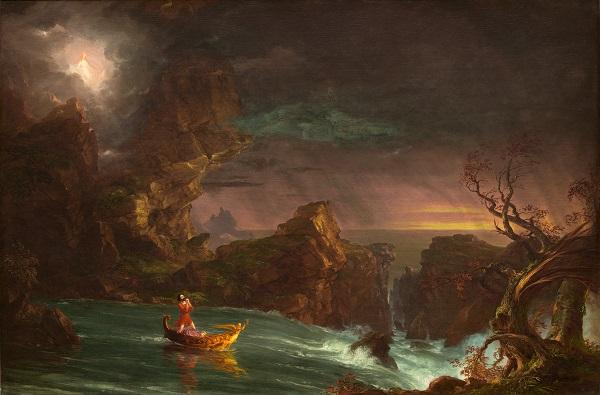 Thomas Cole, The Voyage of Life: Manhood