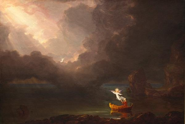 Thomas Cole, The Voyage of Life: Old Age