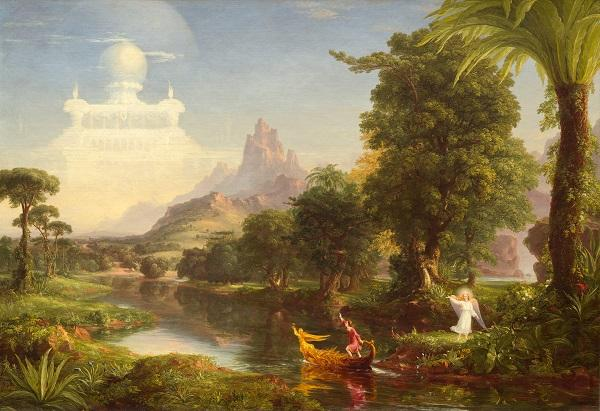 Thomas Cole, The Voyage of Life: Youth