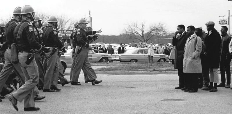 On March 7, 1965, civil rights protesters attempted a march from Selma to Montgomery, Alabama, the state capital, to draw attention to the voting rights issue. (https://bit.ly/2P9urXb)