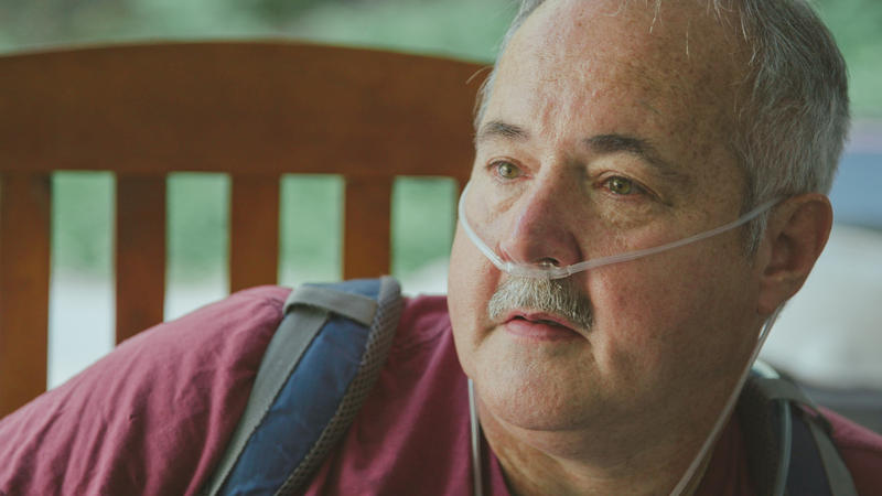 Greg Kelly is a former coal miner suffering an advanced stage of black lung disease.