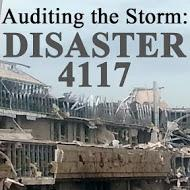 Auditing The Storm: Disaster 4117 is a series of investigative reports tracking federal disaster aid following the Spring 2013 Oklahoma tornado outbreak. This series represents a collaborative effort between The Oklahoma Tornado Project and Oklahoma Watch