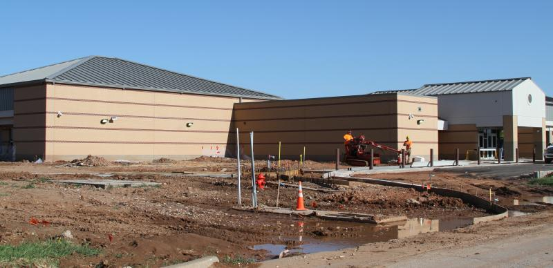 A new Briarwood Elementary School in Moore is near completion, paid for by insurance and federal public assistance money.