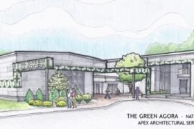The Green Agora would transform a Natchitoches warehouse into a green building.