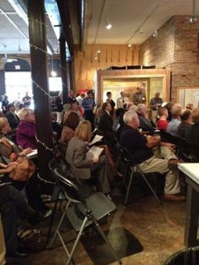 The North Louisiana Economic Partnership presented an update on business activity in its 14-parish region to a group gathered Thursday at Cohab in downtown Shreveport.