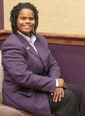 Wiley College senior Ailey Pope will debate Harvard University on the topic of guns in school.