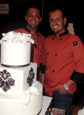 Shane Morgan (right) owns Silver Palate Cakery in Bossier City. He is the sole proprieter, but has help from his partner Michael Walraven (left).