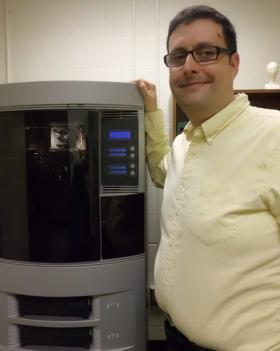 John Miralles, director of LSU Shreveport's animation and visual effects program, purchased a 3-D printer several years ago through a grant from the Louisiana Board of Regents. He said the printer cost about $45,000.