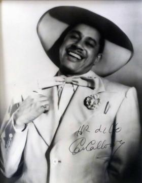 An autographed photo of the late jazz singer Cab Calloway is part of the Poland Collection on display at the Museum of East Texas in Lufkin.