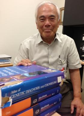 Dr. Harold Chen's renowned genetics atlas is well worn at Shriners Hospital for Children in Shreveport. Chen, 79, is working on new chapters for the next edition.